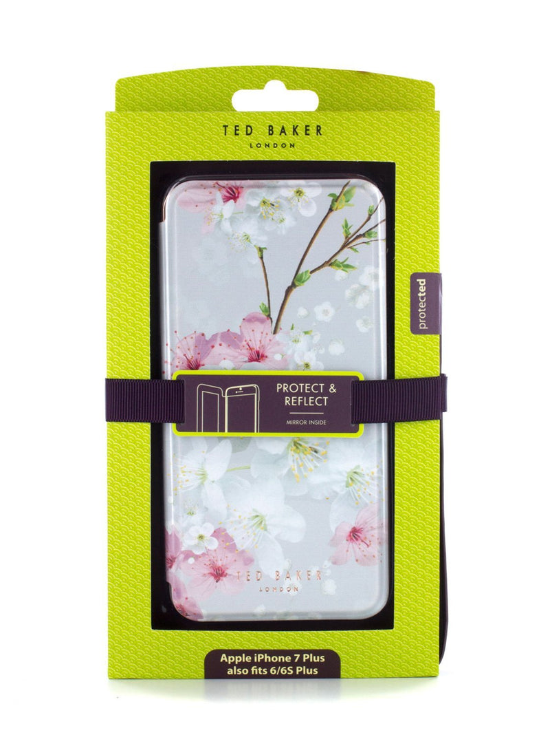 Packaged image of the Ted Baker Apple iPhone 8 Plus / 7 Plus phone case in White