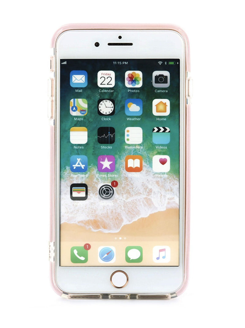 Front image of the Ted Baker Apple iPhone 8 Plus / 7 Plus phone case in Clear Print