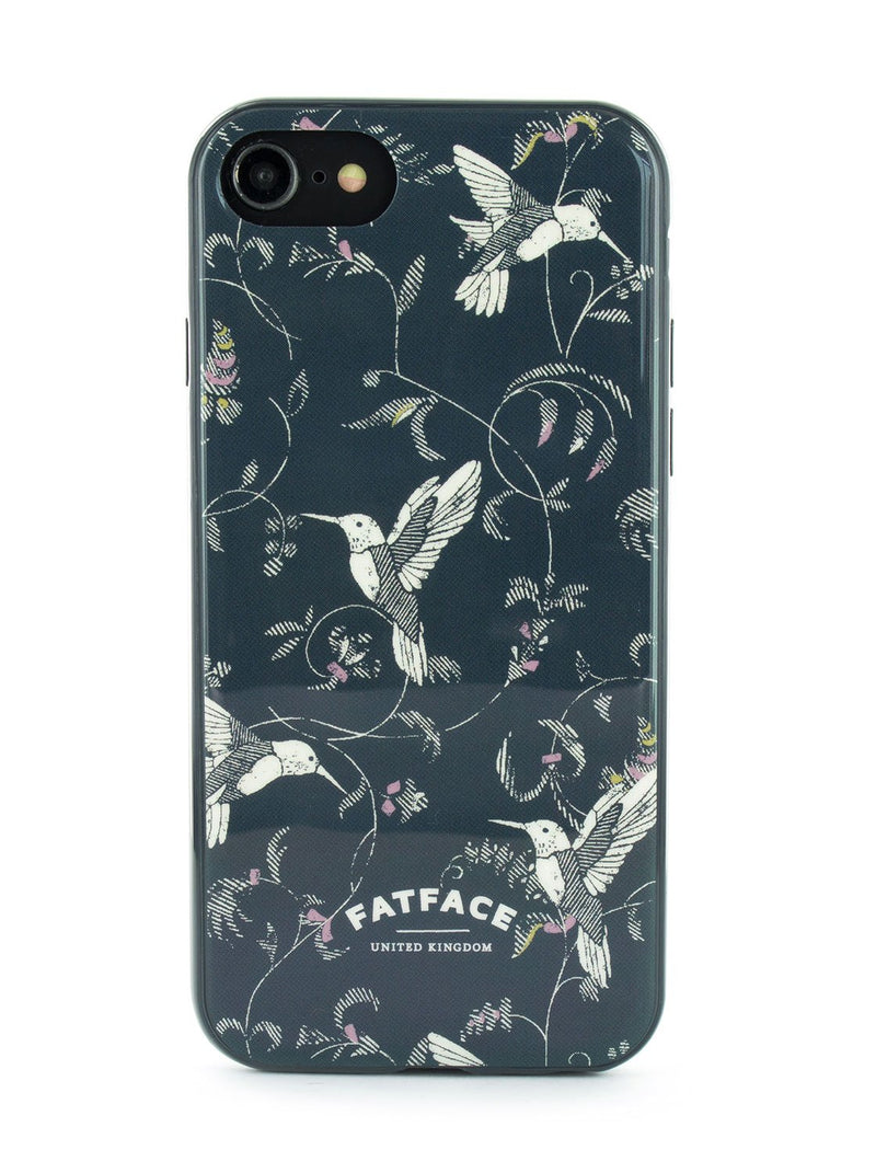 Hero image of the Fat Face Apple iPhone 8 / 7 / 6 phone case in Dark Blue