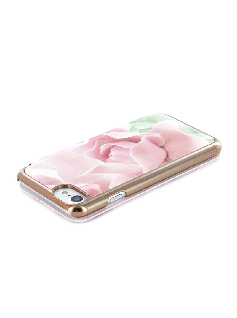 Face down image of the Ted Baker Apple iPhone 8 / 7 / 6S phone case in Nude