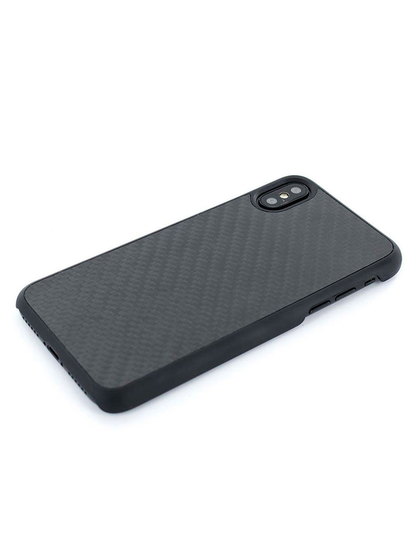 Face down image of the Proporta Apple iPhone XS / X phone case in Black