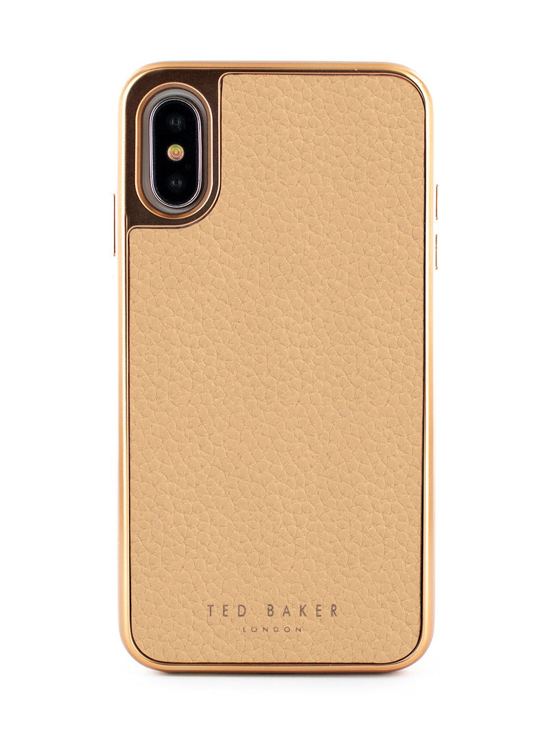 Hero image of the Ted Baker Apple iPhone XS / X phone case in Taupe