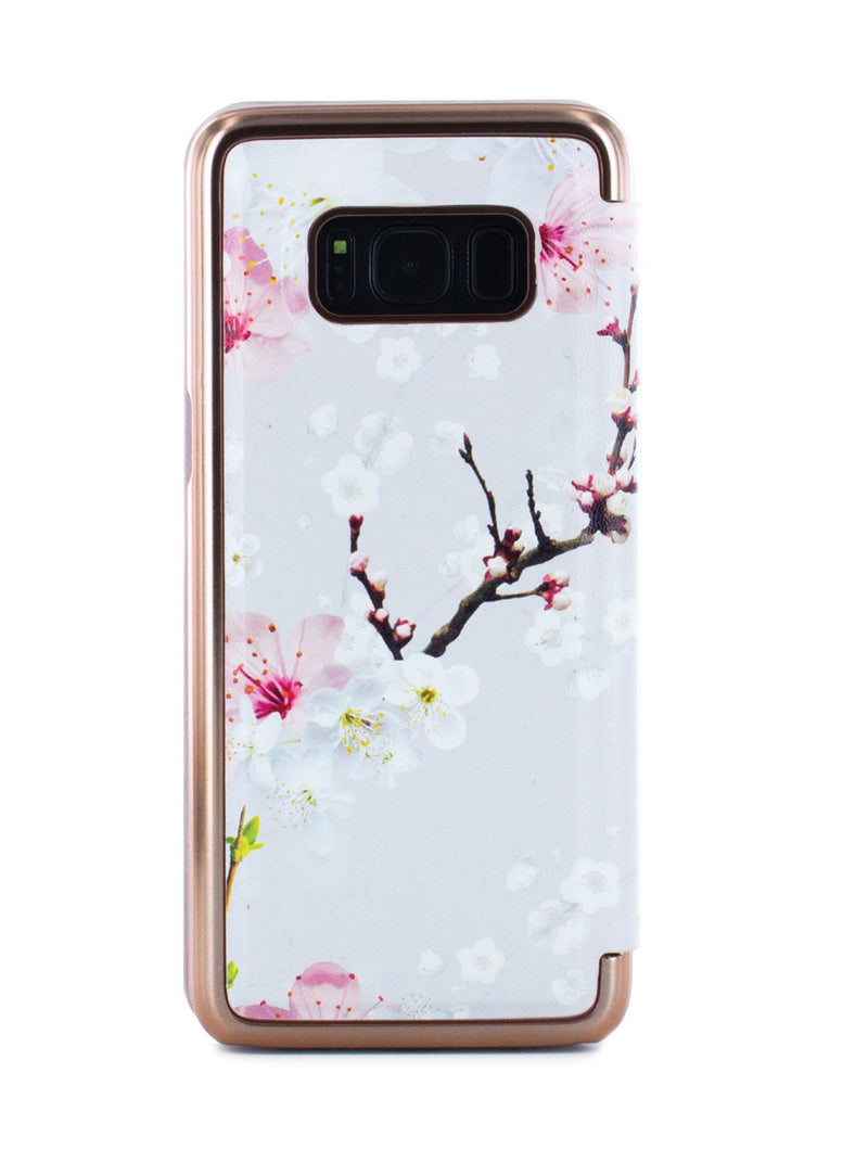Back image of the Ted Baker Samsung Galaxy S8 phone case in White