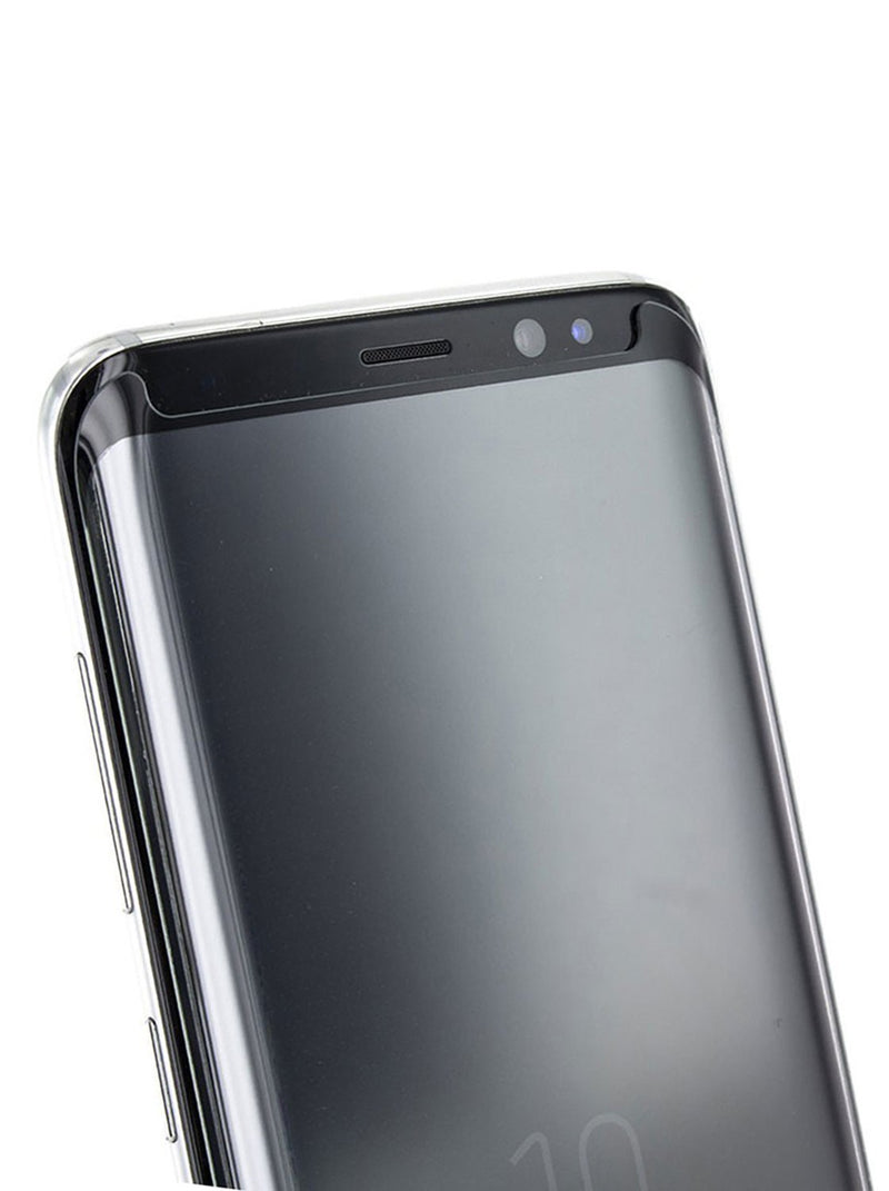 Detail image of the Proporta Samsung Galaxy S8 screen protector in Clear