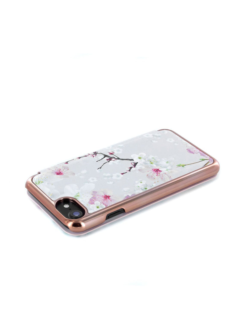 Face down image of the Ted Baker Apple iPhone 8 / 7 / 6S phone case in White