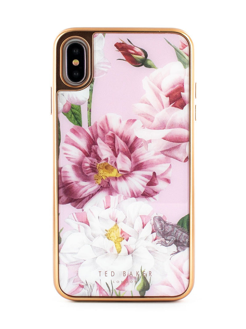 Hero image of the Ted Baker Apple iPhone XS Max phone case in Pink