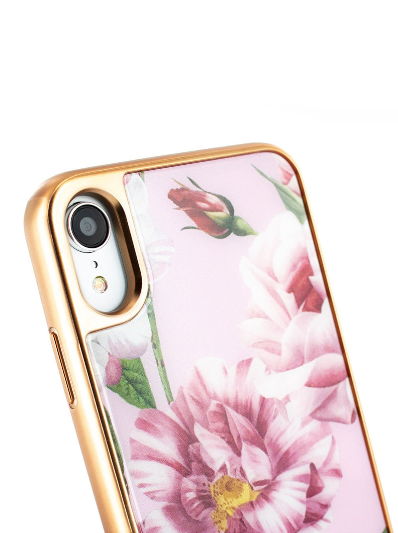 Detail image of the Ted Baker Apple iPhone XR phone case in Pink