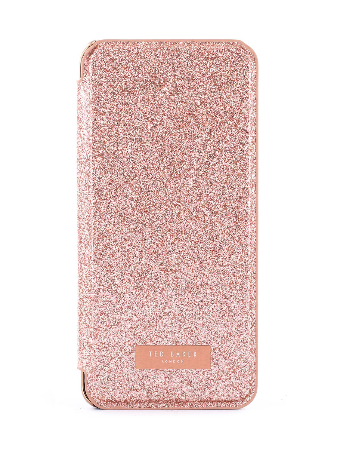 Hero image of the Ted Baker Samsung Galaxy S9 phone case in Rose Gold