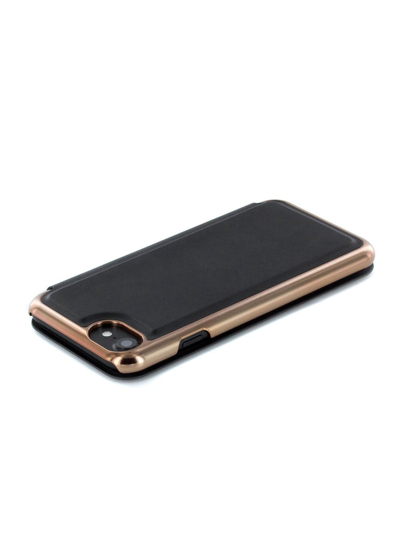 Face down image of the Ted Baker Apple iPhone 8 / 7 / 6S phone case in Black