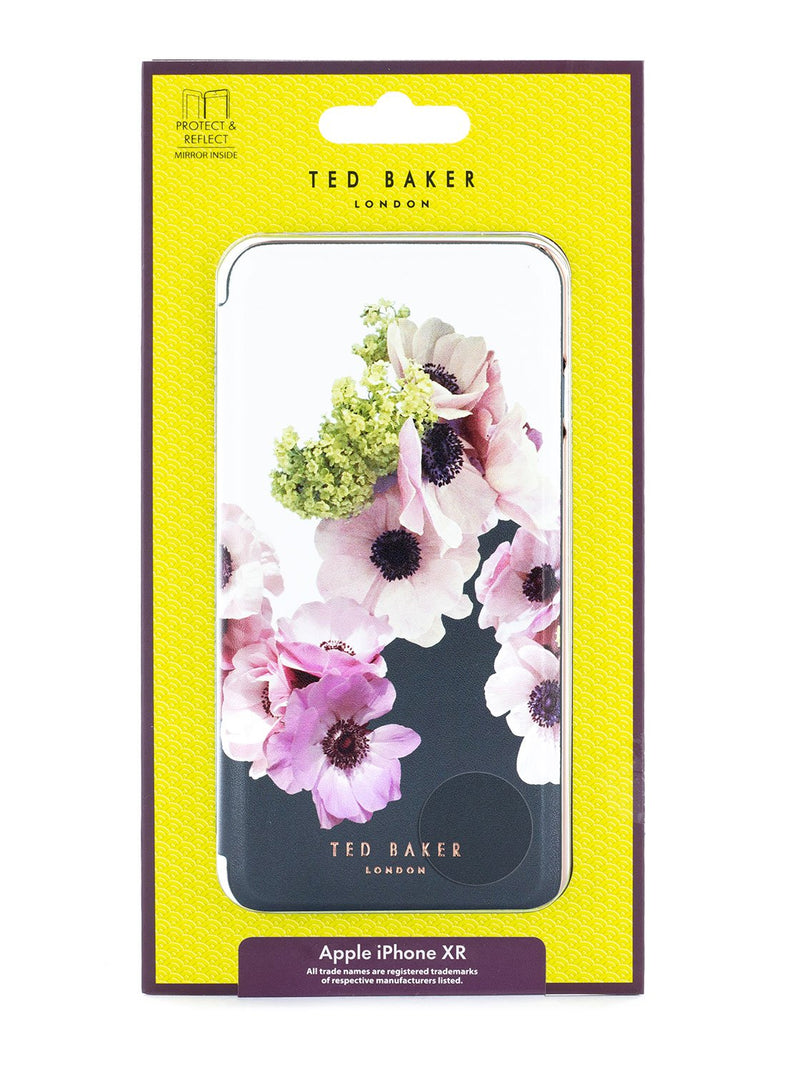 Packaging image of the Ted Baker Apple iPhone XR phone case in Black