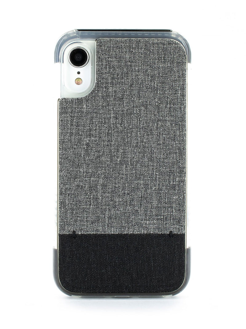 Hero image of the Proporta Apple iPhone XR phone case in Grey