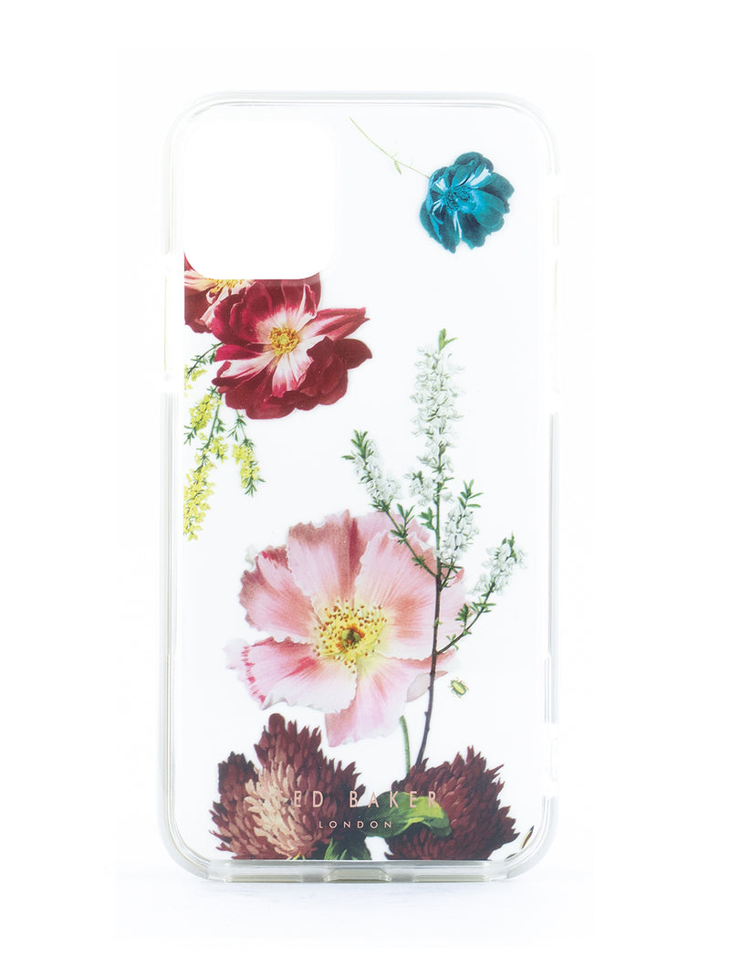 Ted Baker Forest Fruits Anti Shock Case for  iPhone 11 Pro Max - Clear Back
