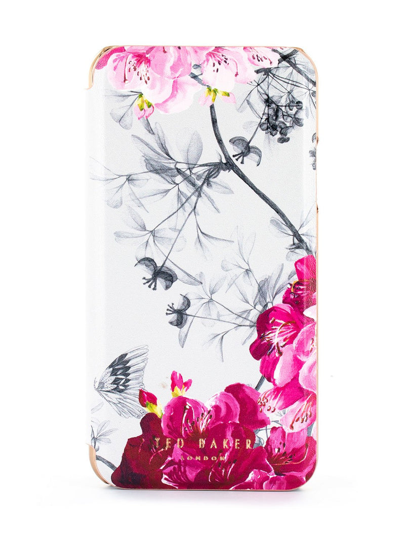 Hero image of the Ted Baker Apple iPhone XR phone case in Babylon Nickel