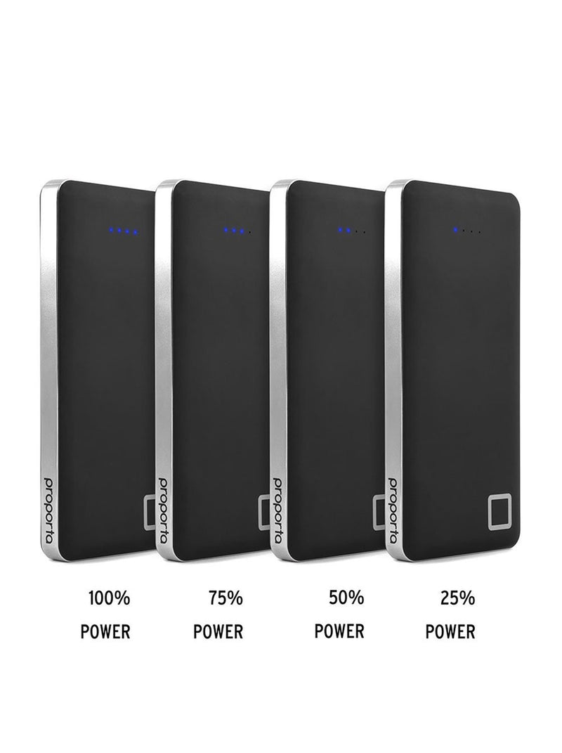 Comparison image of the Proporta Universal power bank in Black