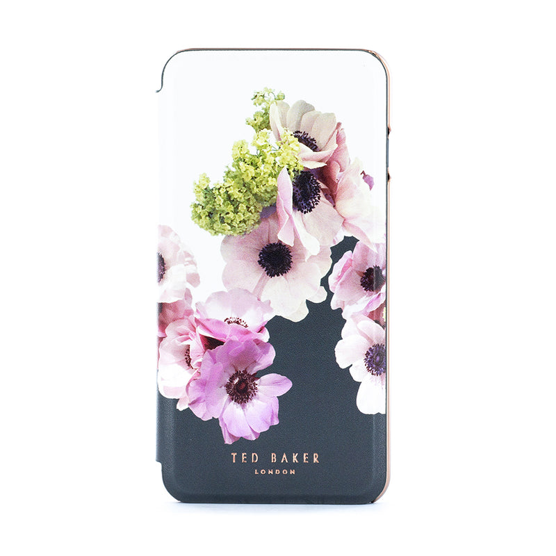 Ted Baker CHESKII Mirror Folio Case with outer Card Slot for iPhone XS Max - Neapolitan