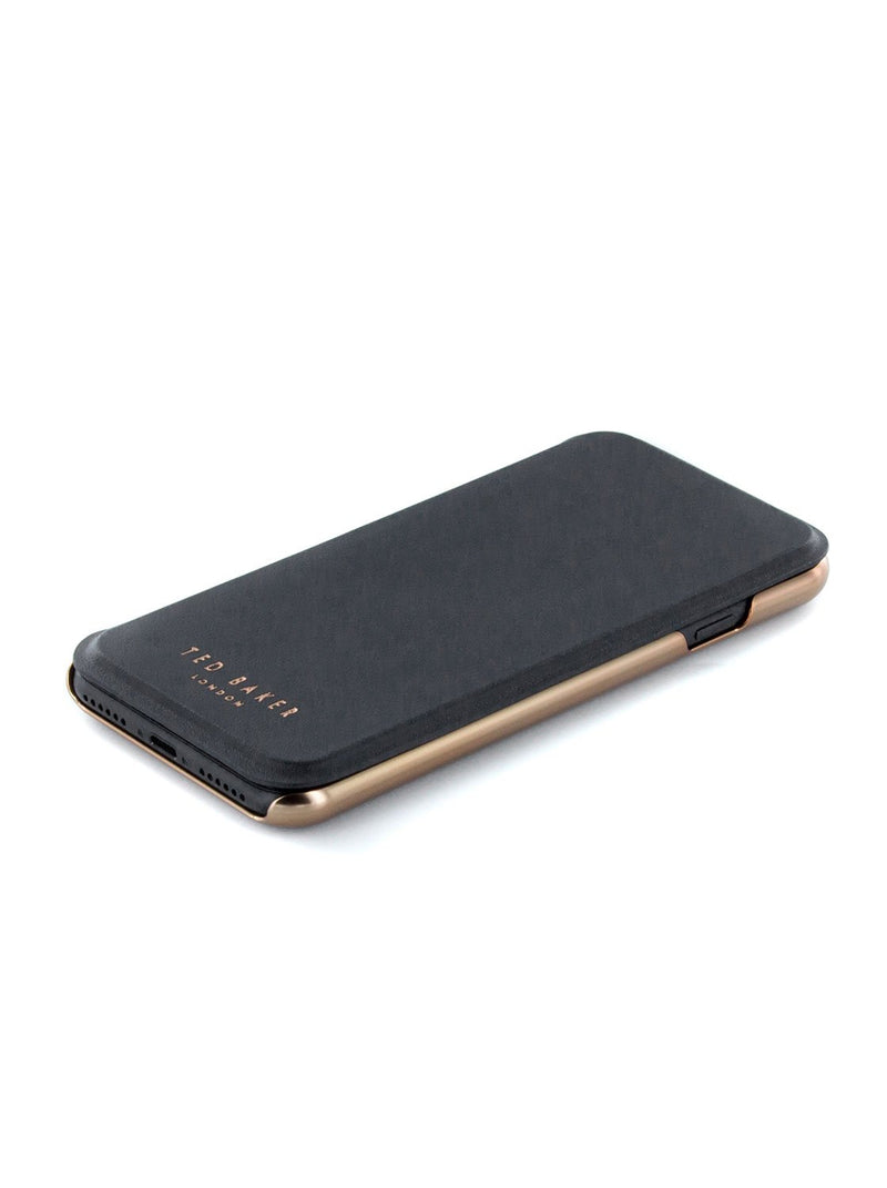 Face up image of the Ted Baker Apple iPhone 8 / 7 / 6S phone case in Black