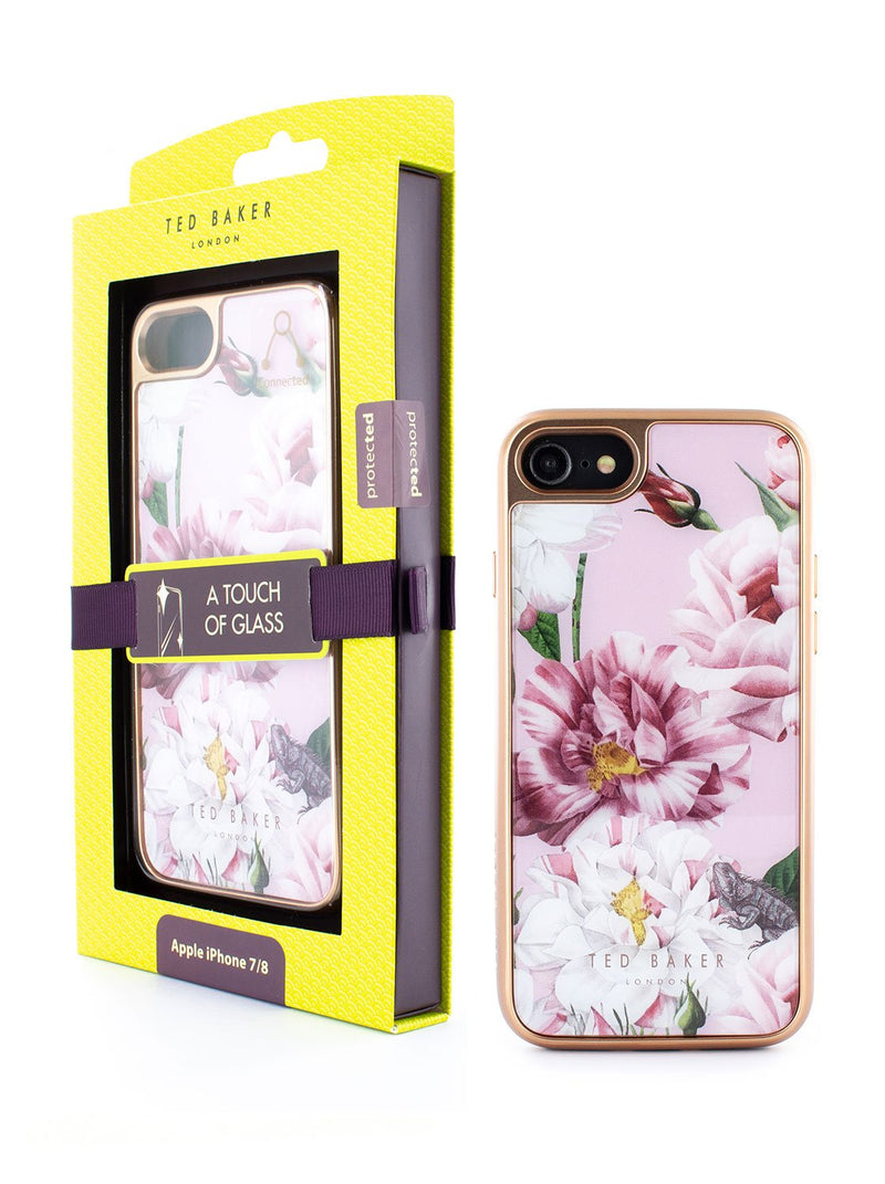 Packaging image of the Ted Baker Apple iPhone 8 / 7 / 6S phone case in Pink