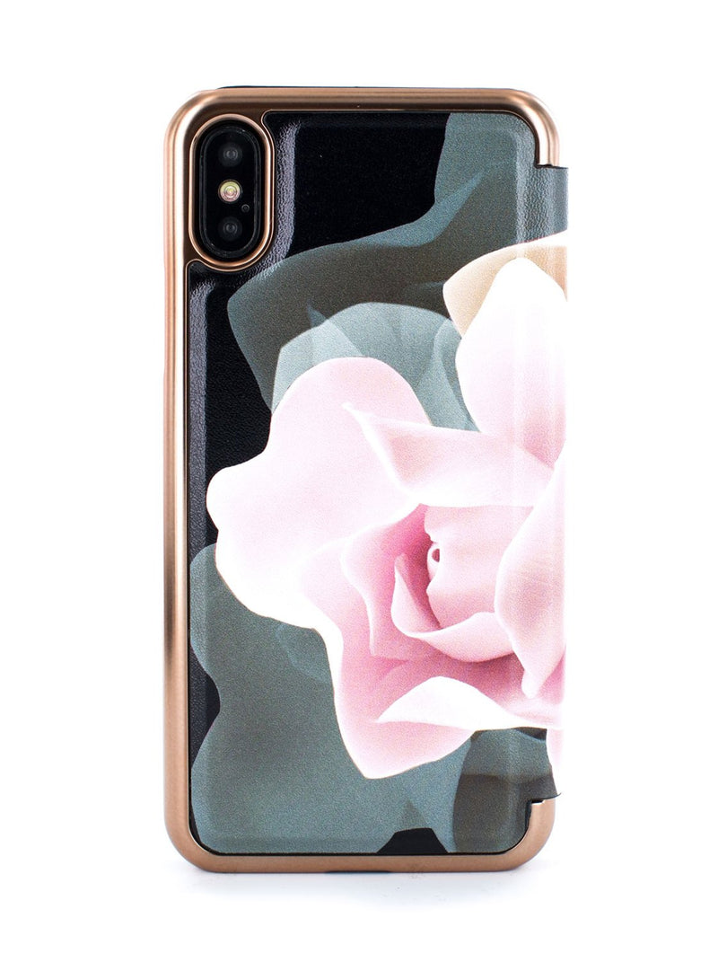 Back image of the Ted Baker Apple iPhone XS / X phone case in Black