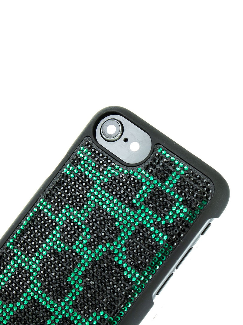 Detail image of the Karen Millen Apple iPhone 8 / 7 / 6S phone case in Black