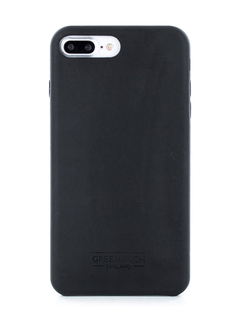 Hero image of the Greenwich Apple iPhone 8 Plus / 7 Plus phone case in Beluga Black