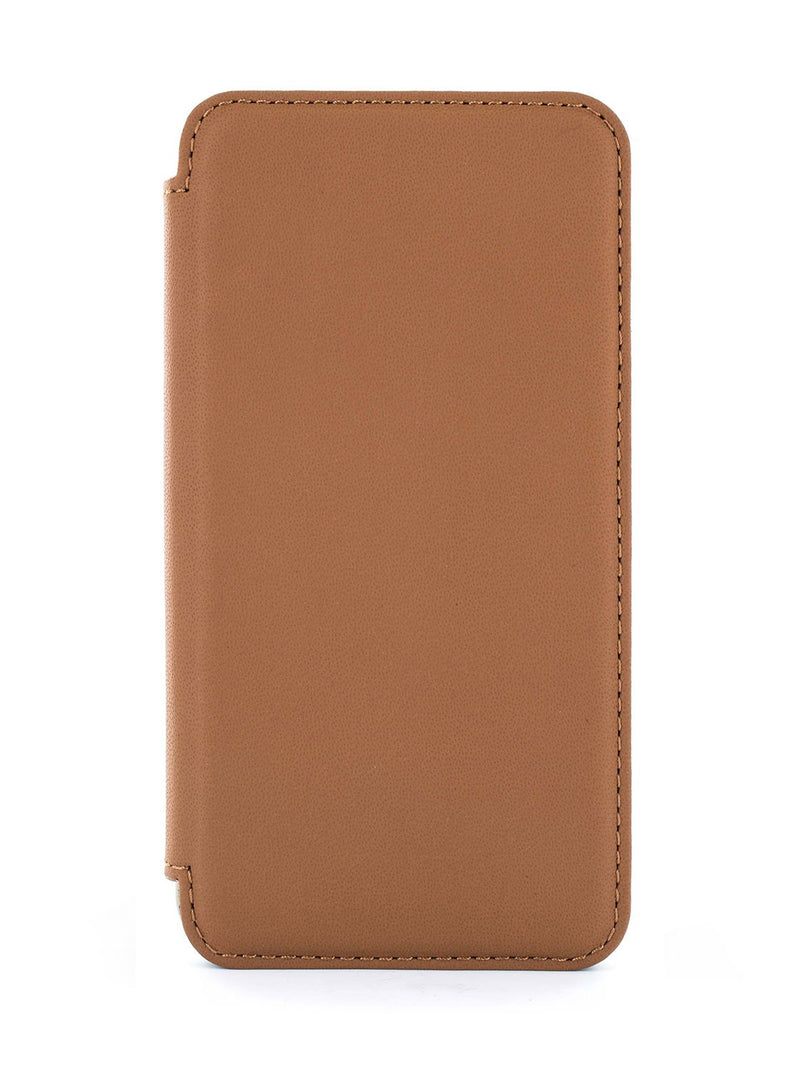 Hero image of the Greenwich Apple iPhone XS Max phone case in Saddle Brown
