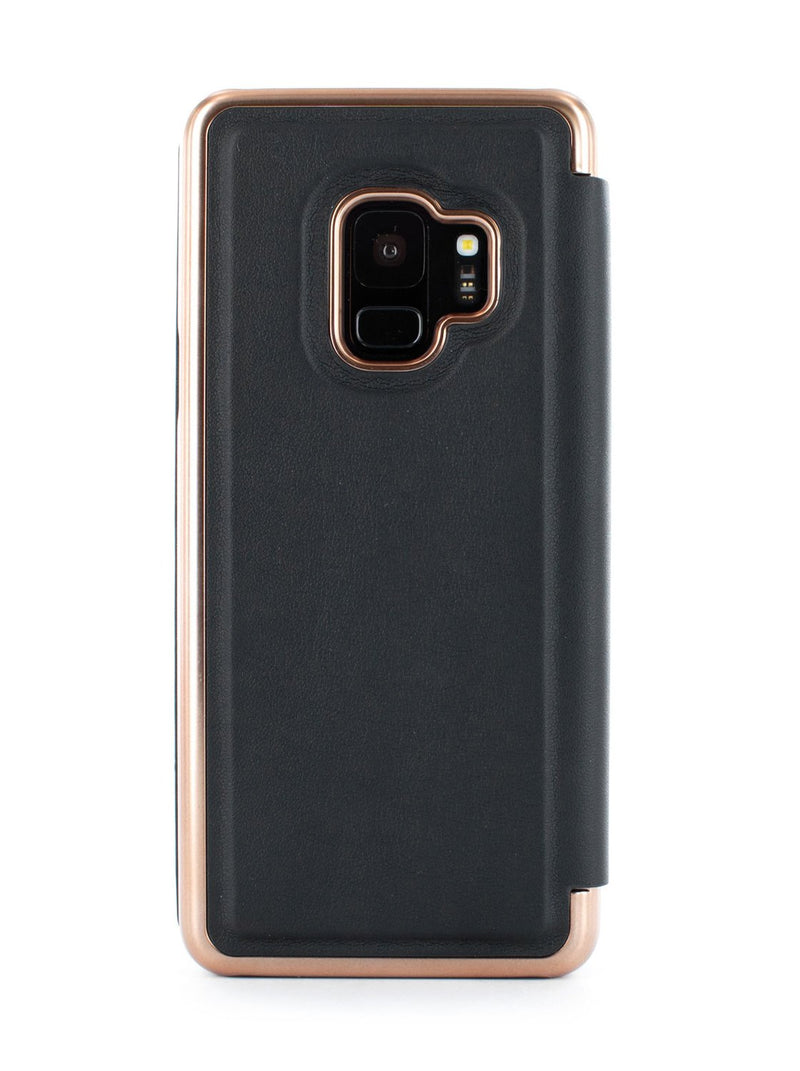Back image of the Ted Baker Samsung Galaxy S9 phone case in Black