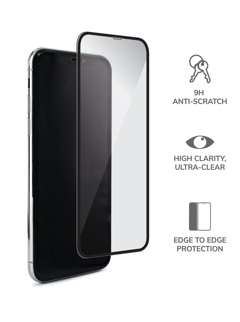 Hero image of the Proporta Apple iPhone XR screen protector in Clear