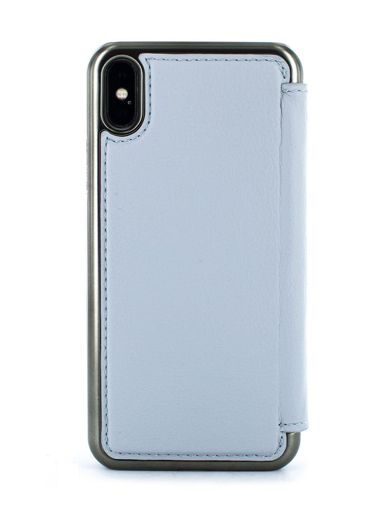 Back image of the Greenwich Apple iPhone XS Max phone case in Pale Gravel Grey