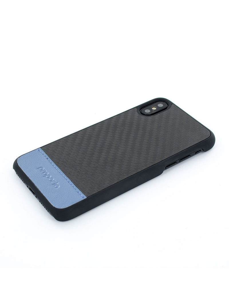 iPhone X / XS Carbon Fibre Case - Carbon Ultra Flash