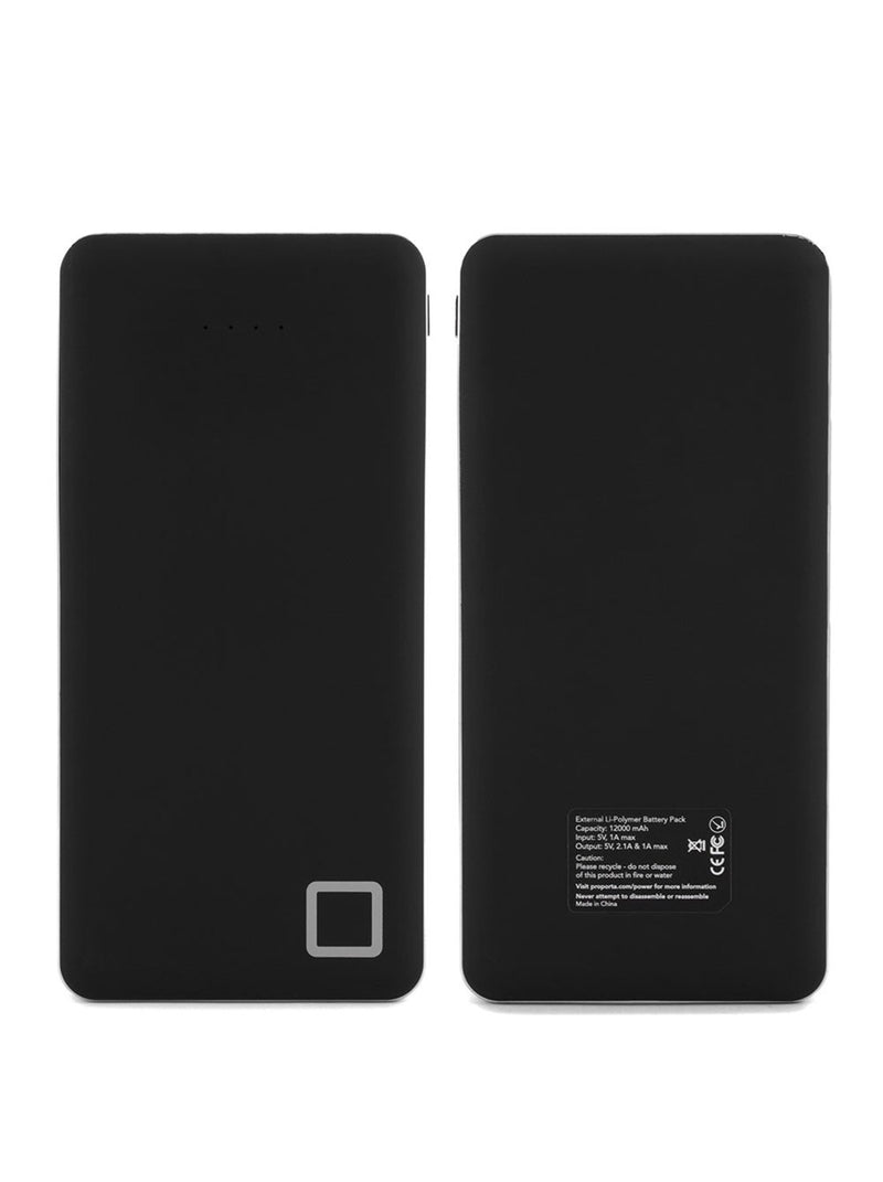 Hero image of the Proporta Universal power bank in Black