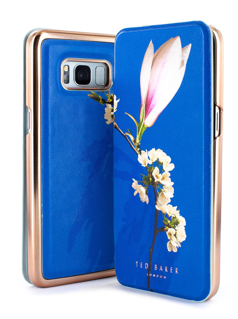 Inside image of the Ted Baker Samsung Galaxy S8 phone case in Blue