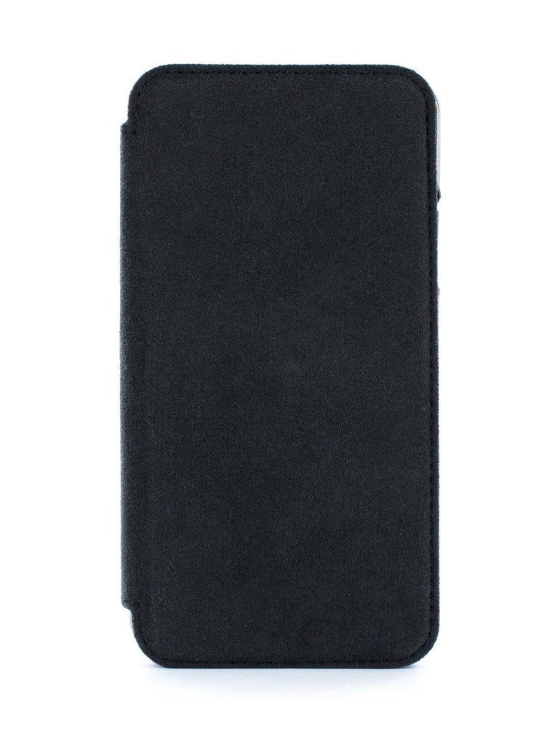 Hero image of the Greenwich Apple iPhone XS / X phone case in Alcantara