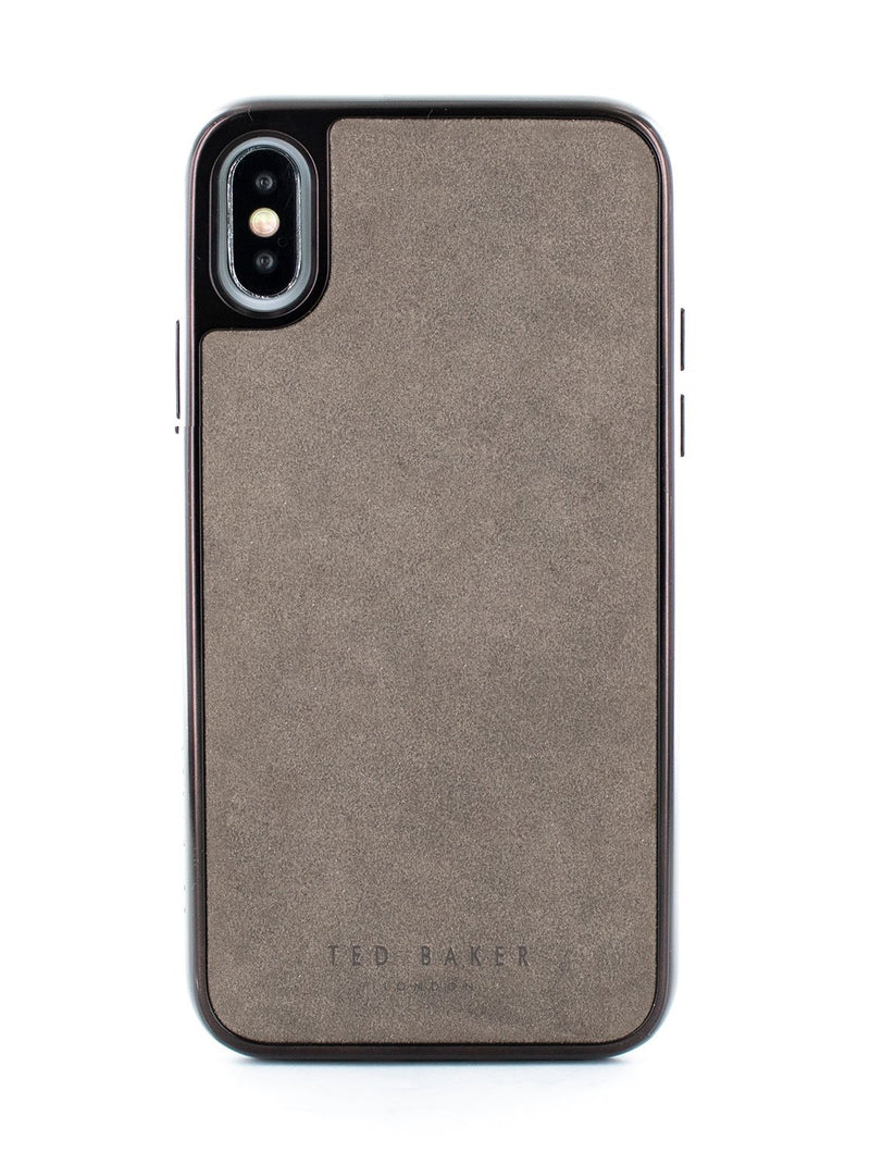 Hero image of the Ted Baker Apple iPhone XS Max phone case in Grey