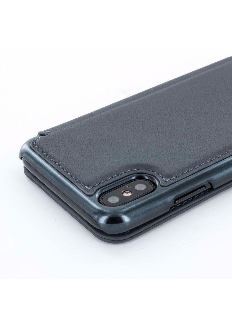Detail image of the Greenwich Apple iPhone XS / X phone case in Black