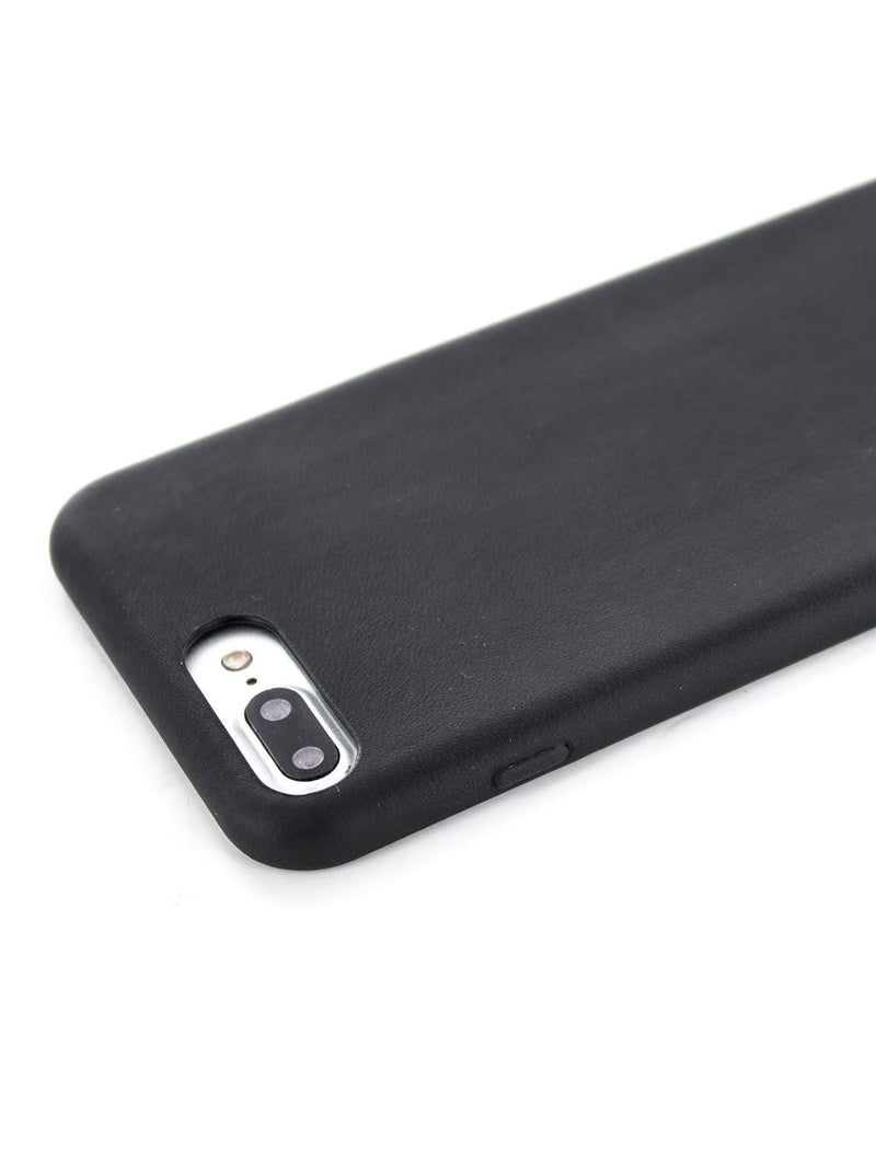 Detail image of the Greenwich Apple iPhone 8 Plus / 7 Plus phone case in Beluga Black