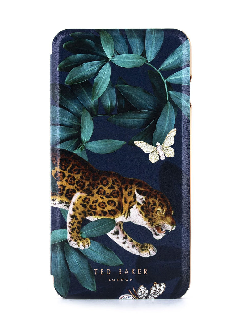 Hero image of the Ted Baker Apple iPhone 8 Plus / 7 Plus phone case in Houdini Green style