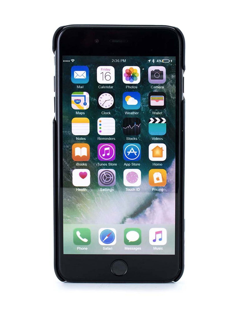 Front image of the Ted Baker Apple iPhone 8 Plus / 7 Plus phone case in Black
