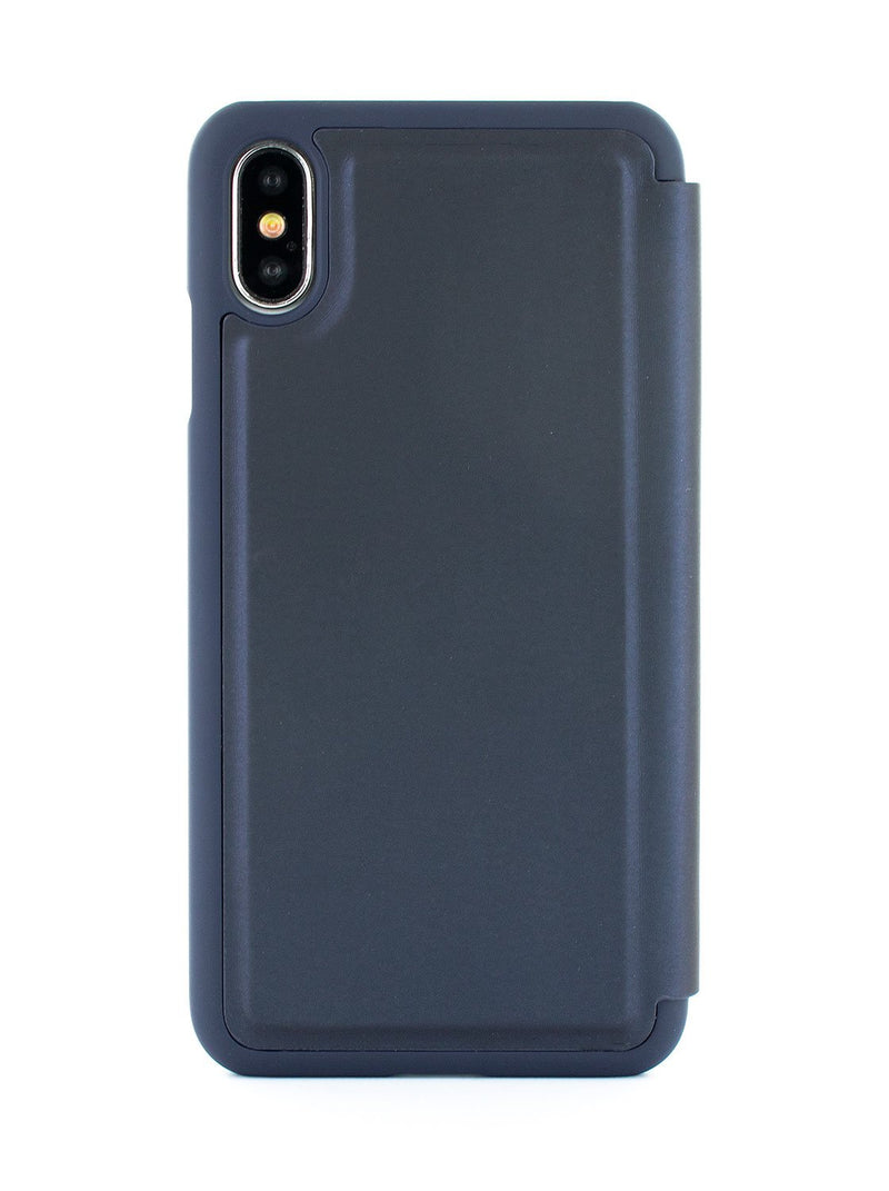 Back image of the Ted Baker Apple iPhone XS / X phone case in Navy Blue