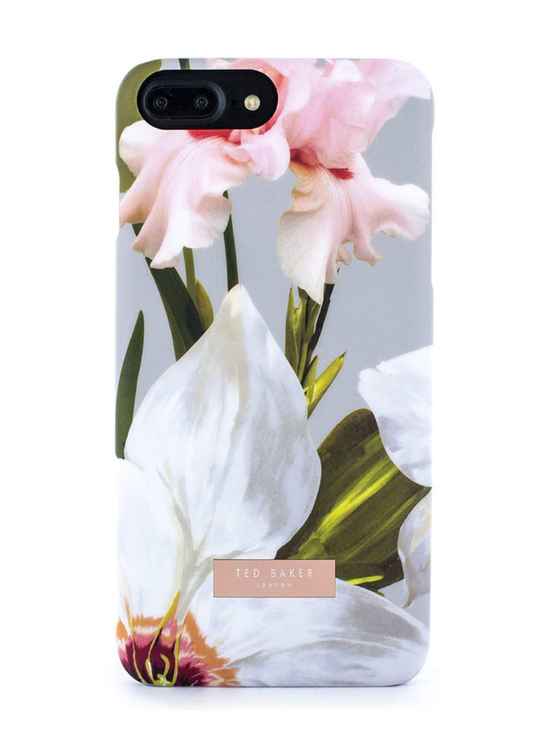 Hero image of the Ted Baker Apple iPhone 8 Plus / 7 Plus phone case in Mid Grey