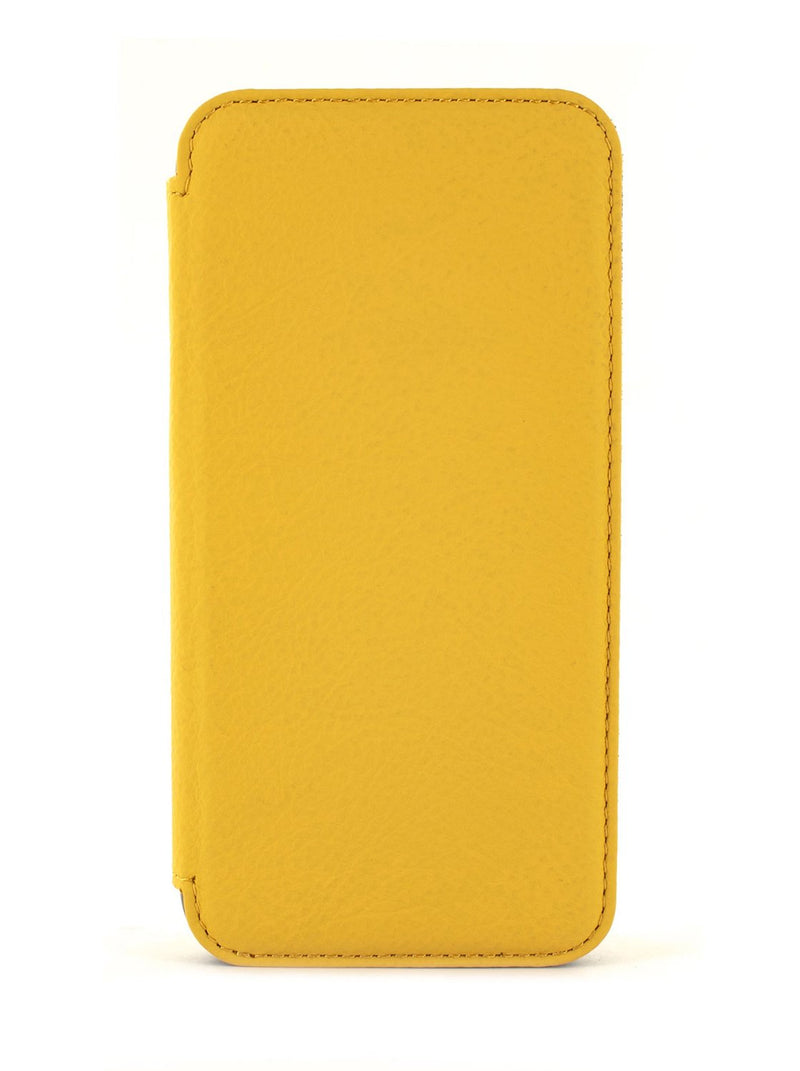 Hero image of the Greenwich Apple iPhone XS / X phone case in Canary Yellow