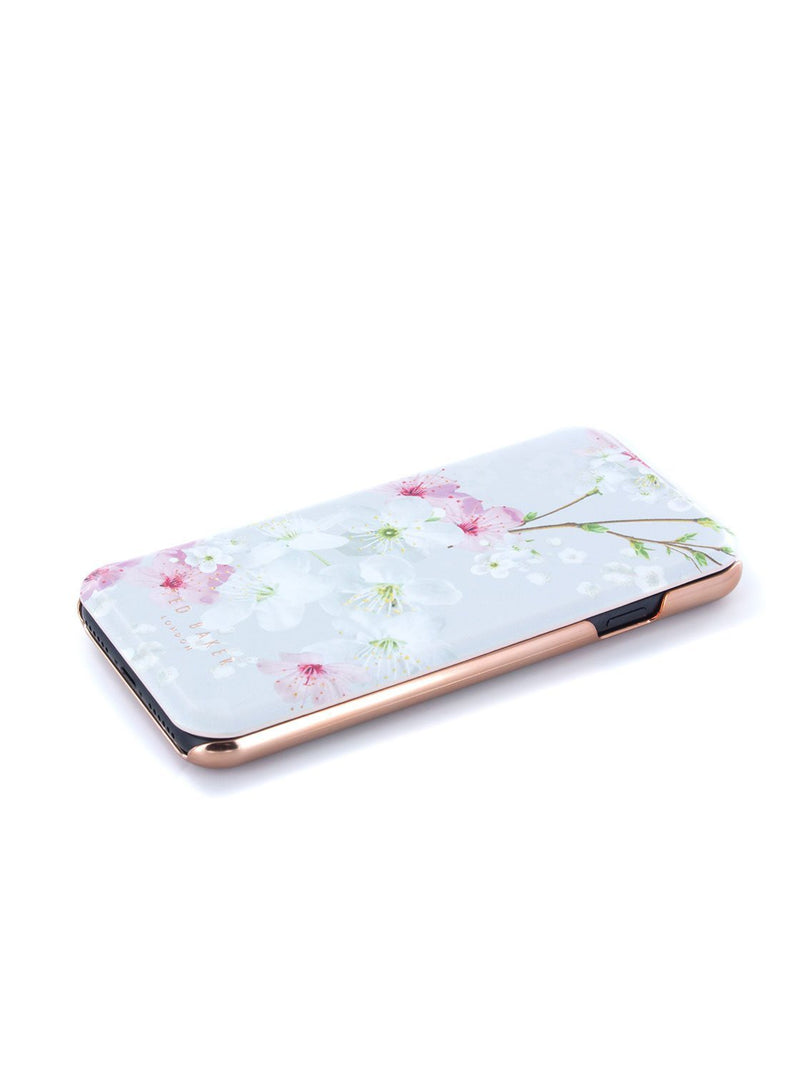 Face up image of the Ted Baker Apple iPhone 8 / 7 / 6S phone case in White