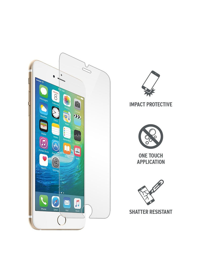 Hero image of the Proporta Apple iPhone 8 Plus / 7 Plus screen protector in Clear
