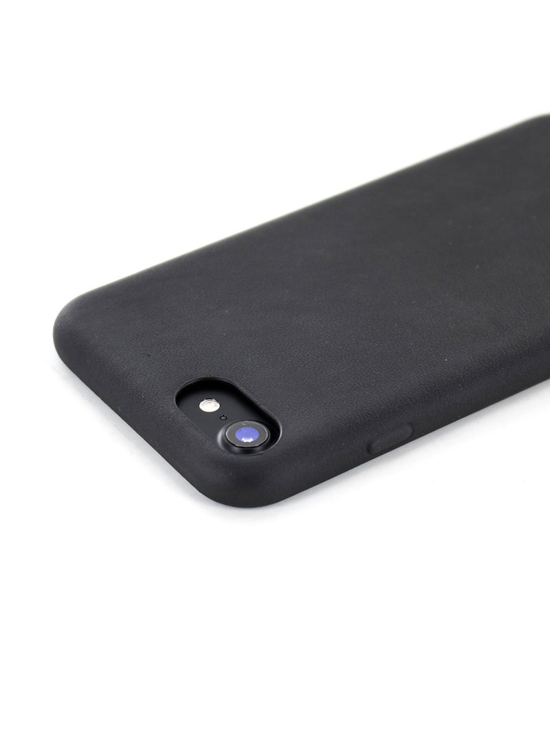 Face down image of the Greenwich Apple iPhone 8 / 7 / 6S phone case in Beluga Black