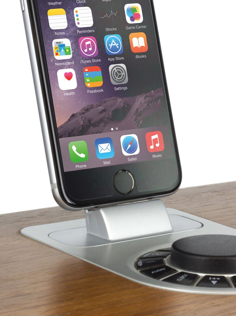 Used with device image of the Proporta Lightning Dock Devices mount in Silver