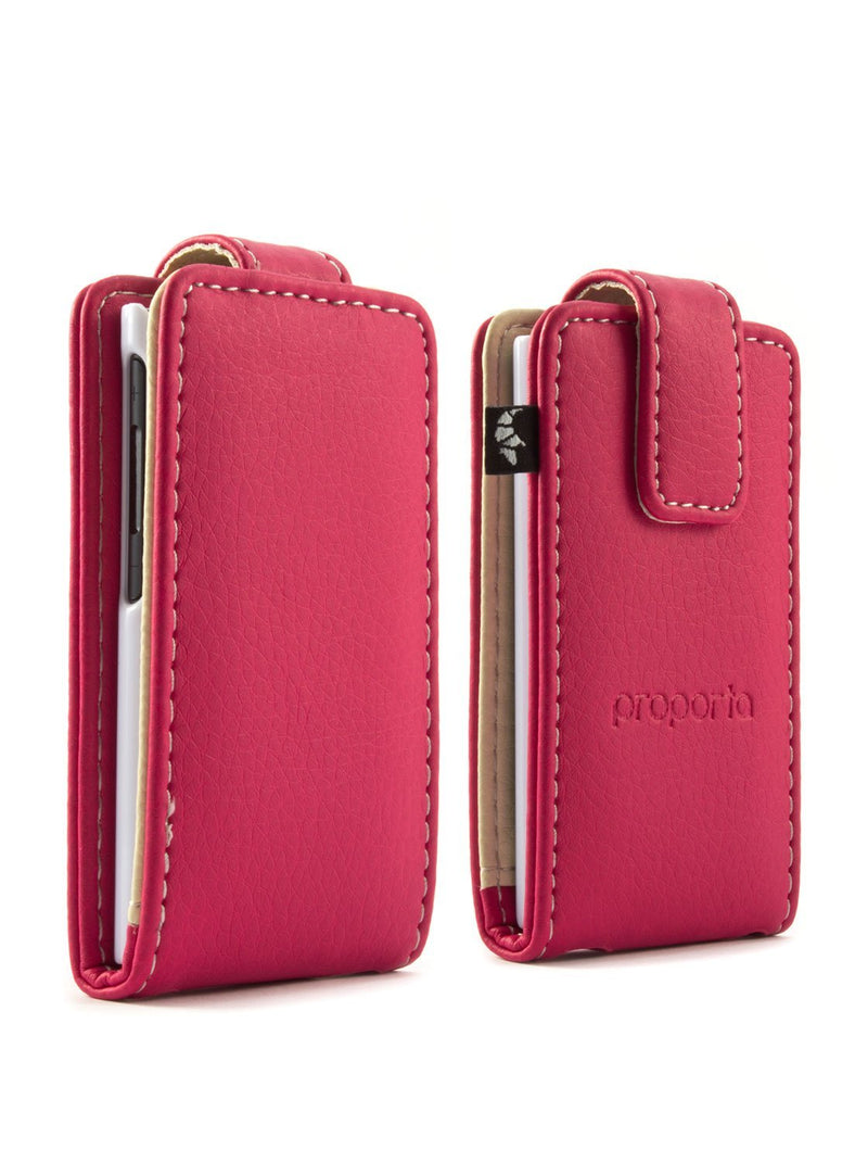 Front and back image of the Proporta Apple iPod Nano 7G phone case in Pink