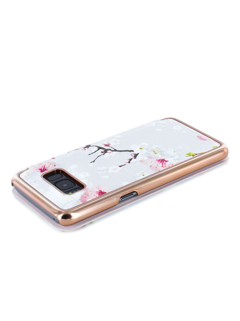 Face down image of the Ted Baker Samsung Galaxy S8 phone case in White