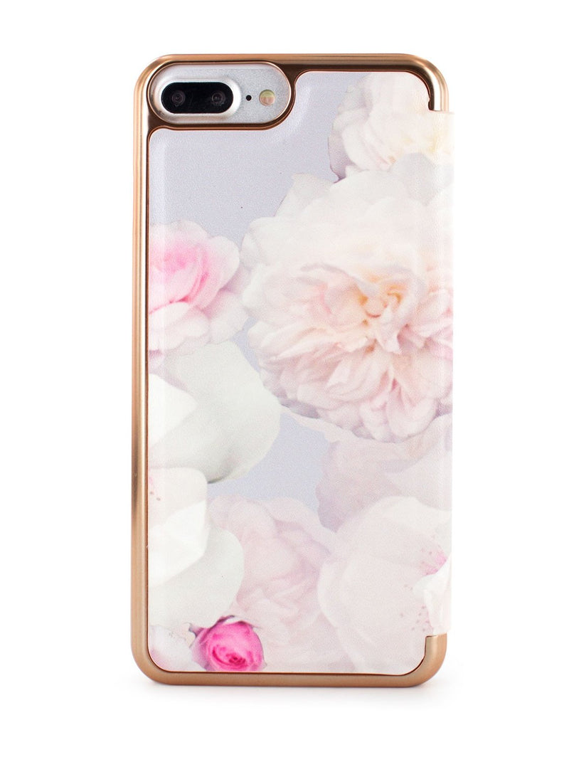 Back image of the Ted Baker Apple iPhone 8 Plus / 7 Plus phone case in Pale Grey