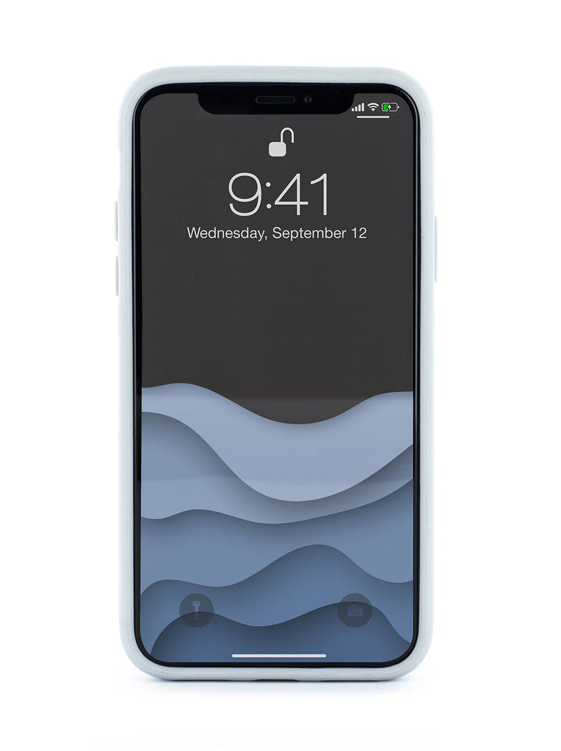 Front image of the Ted Baker Apple iPhone XS / X phone case in Grey