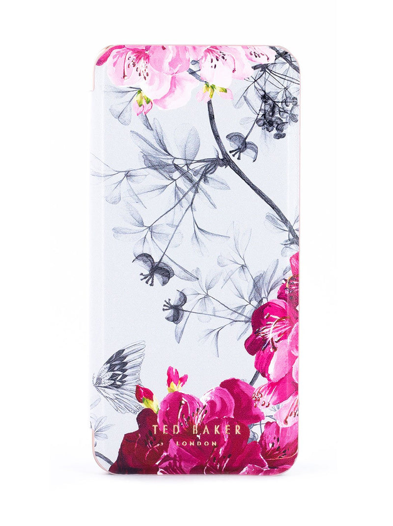 Hero image of the Ted Baker Samsung Galaxy S9 phone case in Babylon Nickel