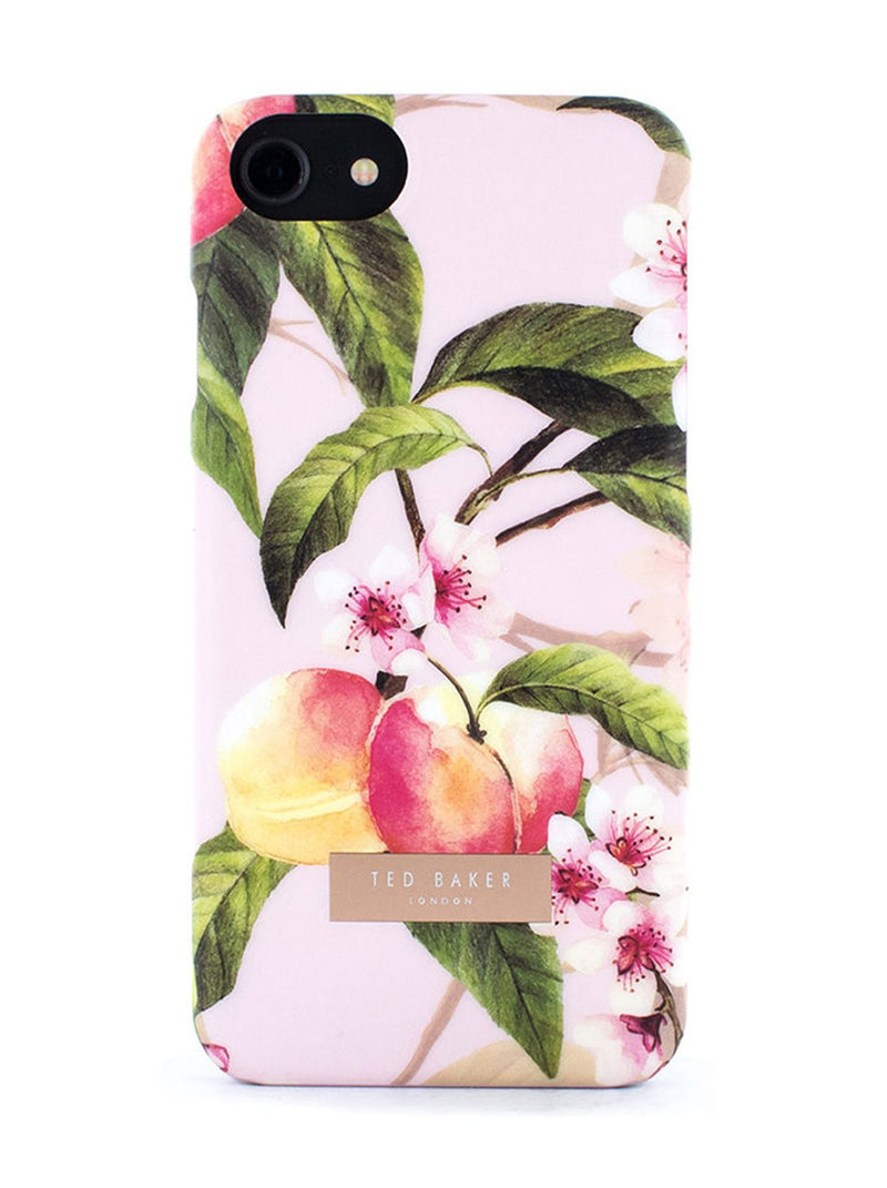 Hero image of the Ted Baker Apple iPhone 8 / 7 / 6S phone case in Peach Blossom